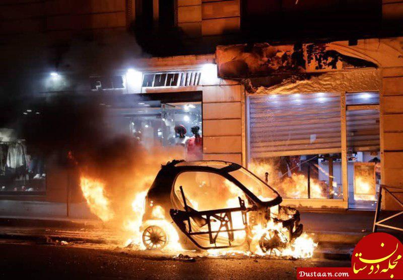 www.dustaan.com آمادگی فرانسه برای از سرگیری اعتراضات سراسری در پنجمین هفته متوالی