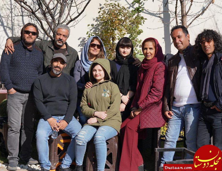 www.dustaan.com سارا و نیکا فرقانی در فیلم جدیدشان! +عکس