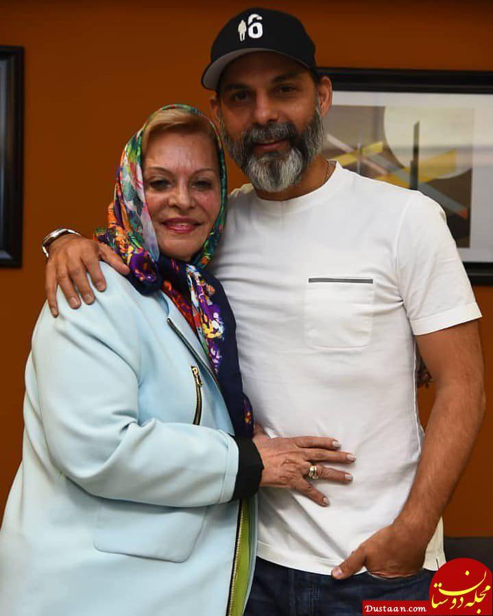 پیمان معادی و مادرش در اولین اکران مردمی فیلم «بمب، یک عاشقانه»