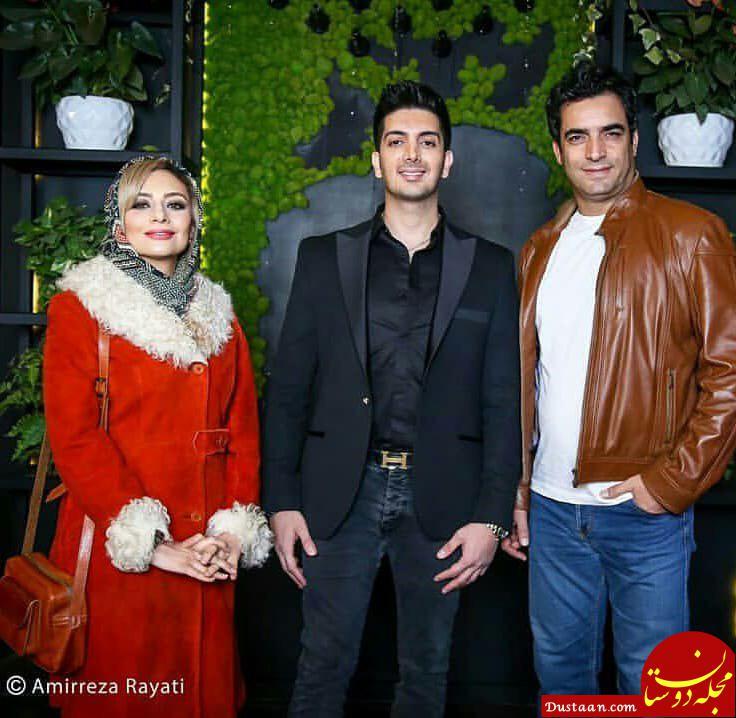 www.dustaan.com علی دایی، نیوشا ضیغمی و یکتا ناصر در افتتاحیه رستوران فرزاد فرزین +تصاویر