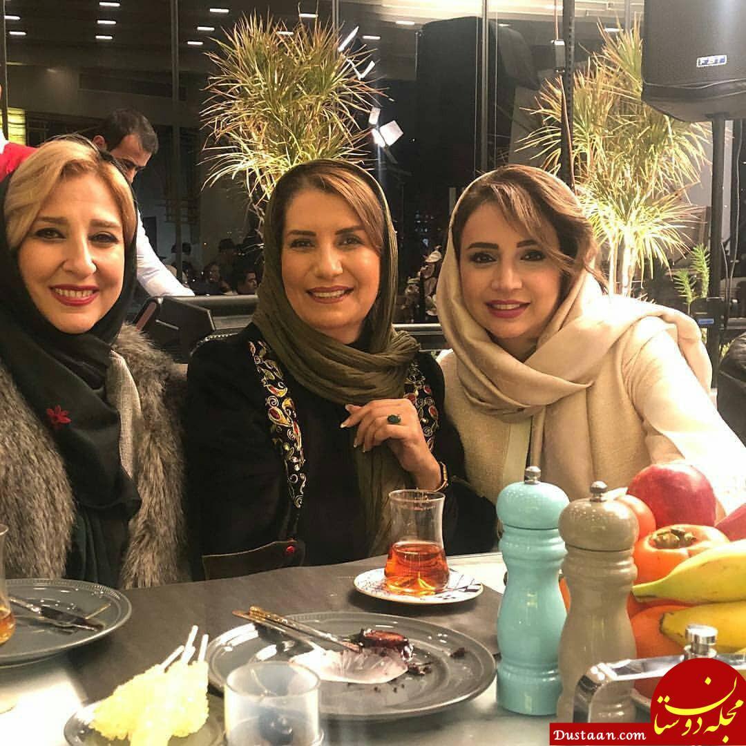 www.dustaan.com دورهمی هنرمندان در جشن تولد سالار عقیلی +تصاویر