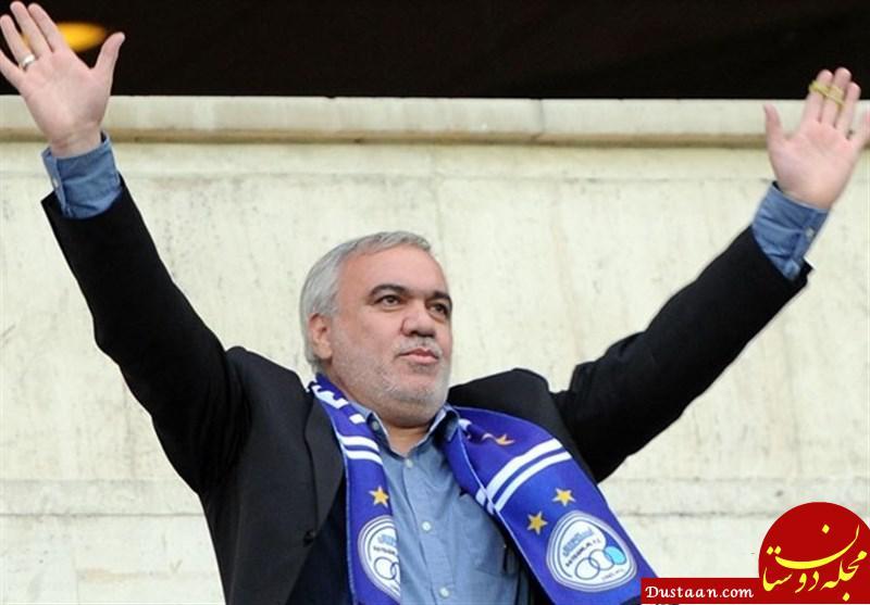 www.dustaan.com فتح الله زاده: معلوم است که باید امیرحسین صادقی را تنبیه می کردم!