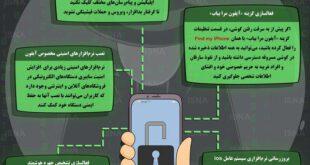 با این روش ها مانع هک شدن گوشی آیفون شوید