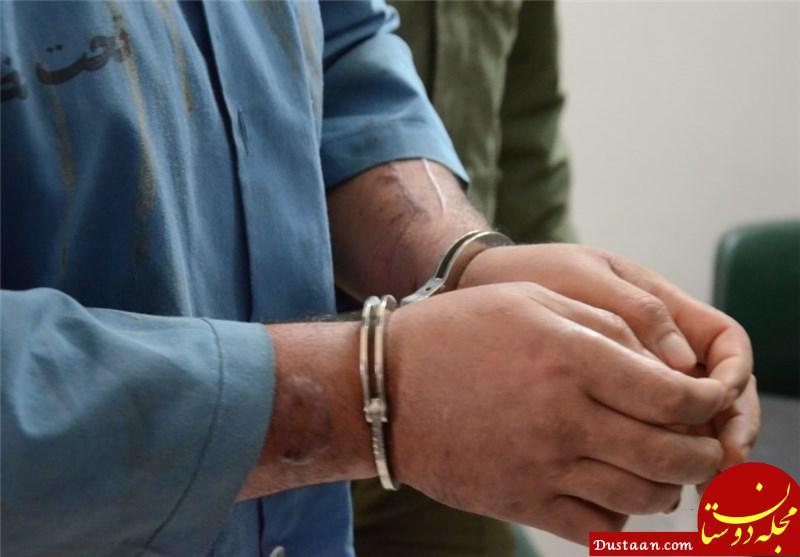 www.dustaan.com مرد 60 ساله همسر صیغه ای را با روسری خفه کرد