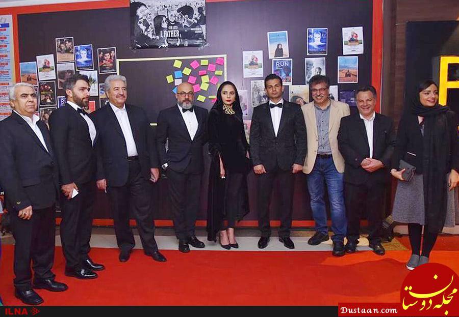 www.dustaan.com امیر آقایی و رعنا آزادی ور در جشنواره فیلم هند +عکس