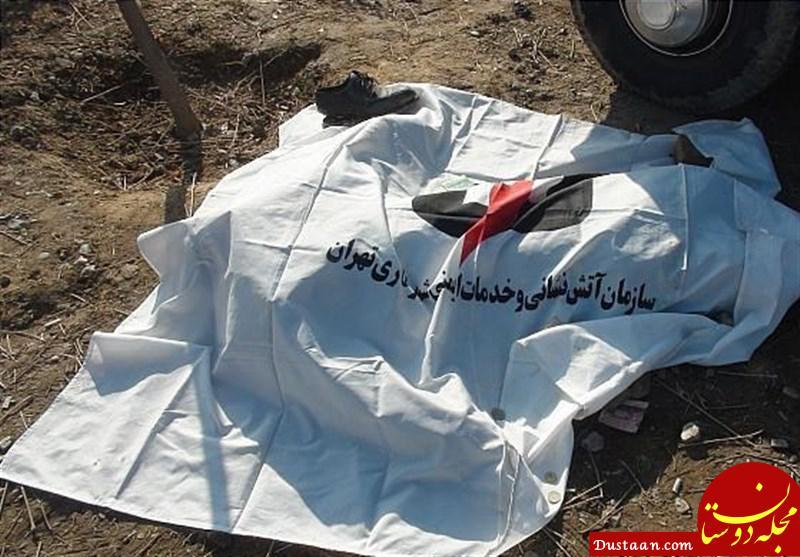 www.dustaan.com قتل دلخراش زنی که از برف پاک کن های کامیون آویزان شد!