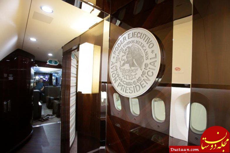 www.dustaan.com فروش هواپیمای لاکچری رئیس جمهور سابق +عکس