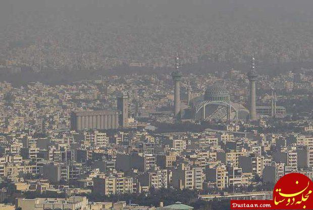 www.dustaan.com توصیه رئیس اورژانس تهران به شهروندان برای روزهای آلوده