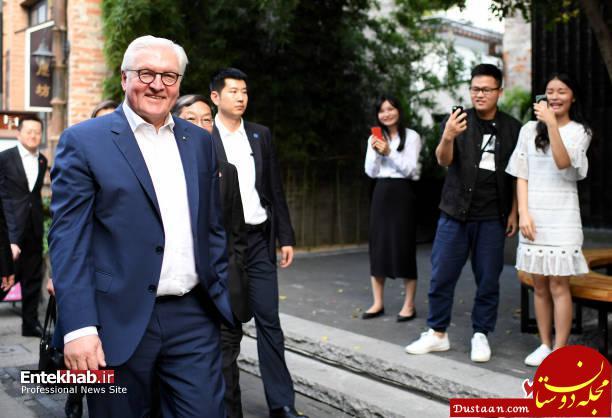 www.dustaan.com گشت و گذار رئیس جمهور در چین! +تصاویر