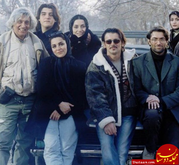 www.dustaan.com عکس زیرخاکی از بازیگران «زن زیادی» در سال 83
