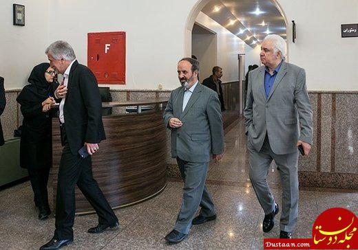 www.dustaan.com ملکی و قراب از هیئت مدیره استقلال استعفا دادند