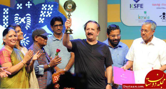 www.dustaan.com جایزه ای که کارگردان سرشناس ایرانی از هندی ها گرفت! +عکس