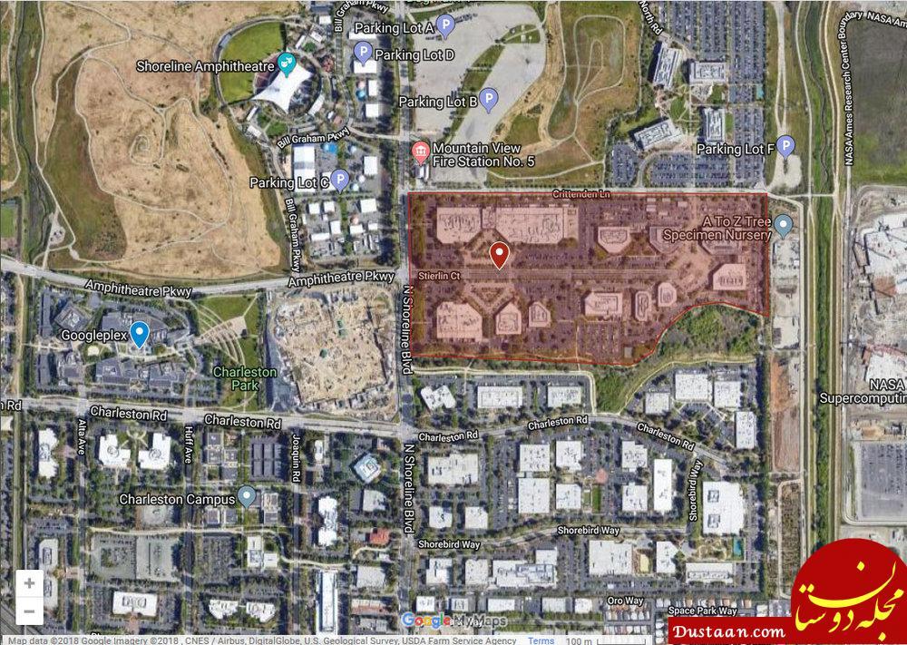 رونمایی از پروژه دهکده گوگل با 8 هزار خانه مسکونی +jwh,dv