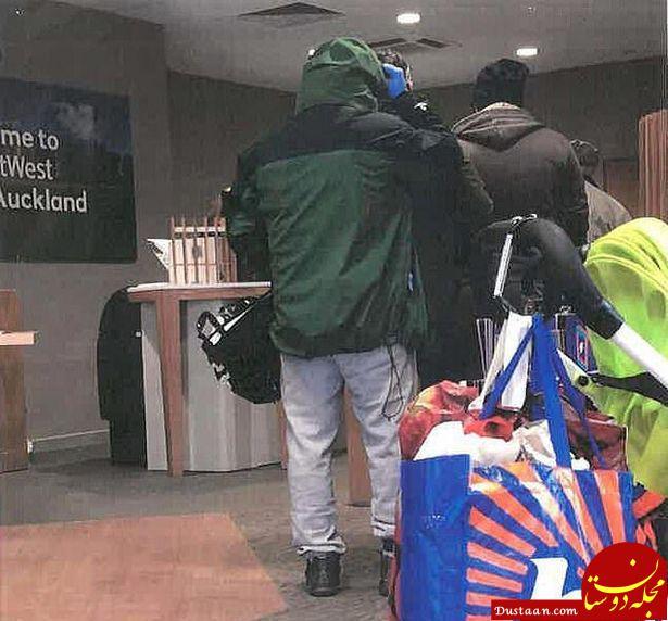 دزدی سارق از بانک مثل آب خوردن! +تصاویر