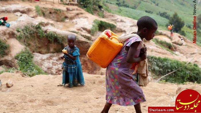 www.dustaan.com تصویری تکان دهنده از دختربچه آفریقایی +عکس