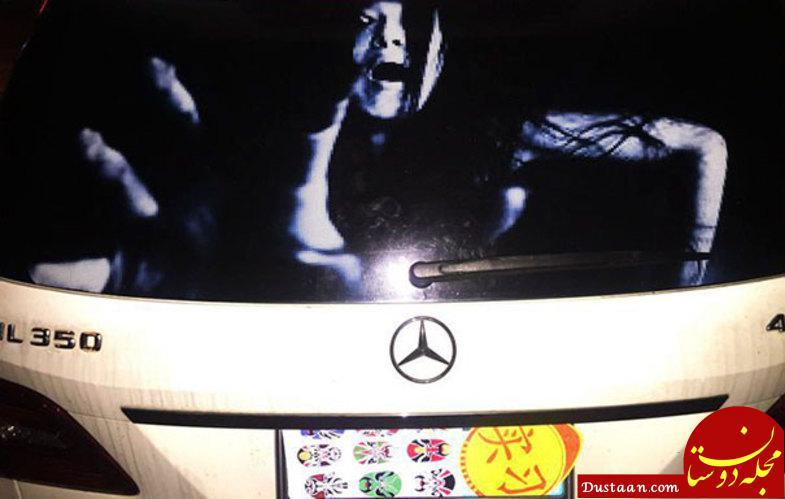 روش عجیب چینی ها برای مجازات رانندگان متخلف! +عکس