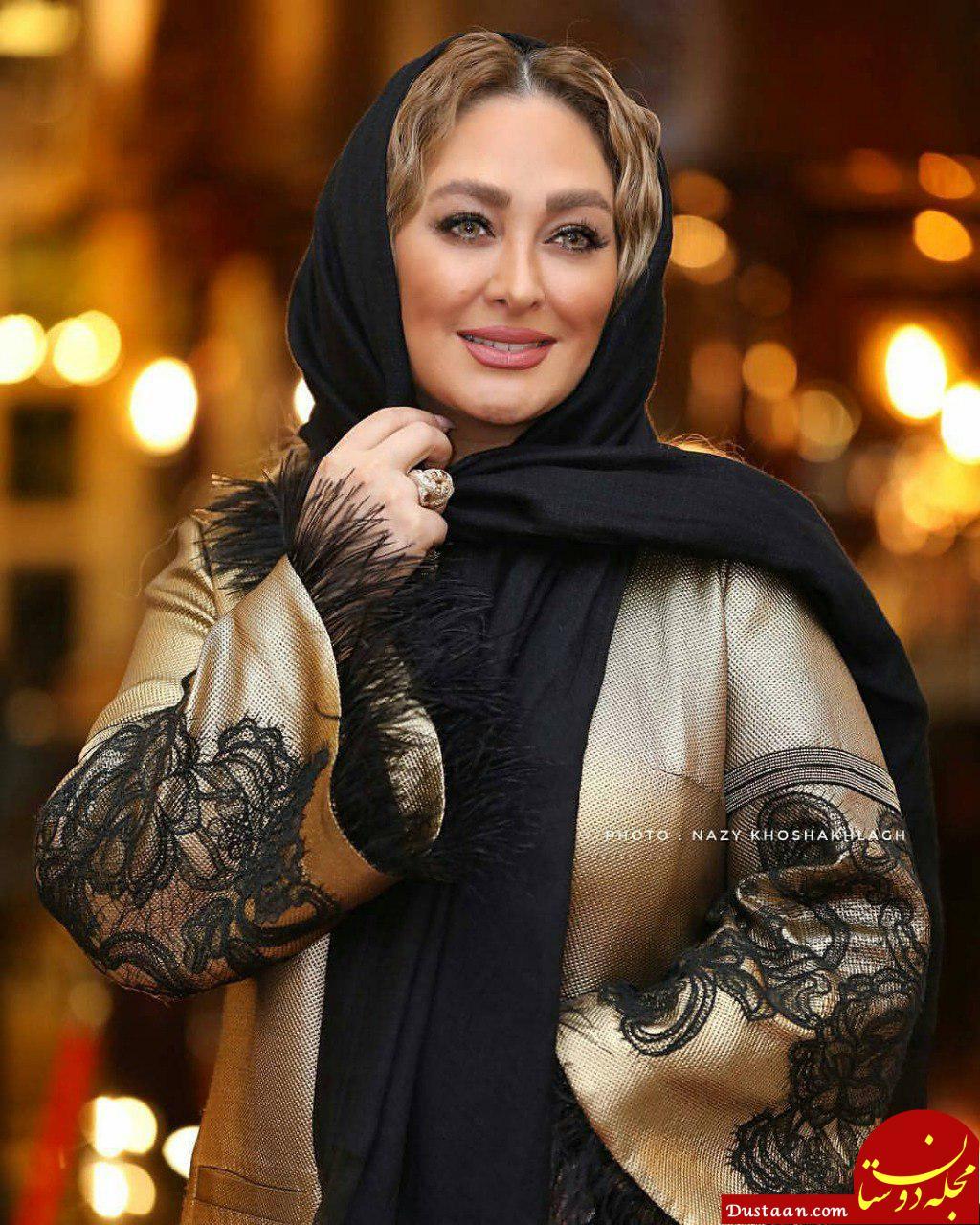 تیپ متفاوت الهام حمیدی در اکران فیلم هشتگ خاله سوسکه +عکس