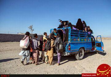 www.dustaan.com خطرناکترین سرویس مدرسه در استان کرمان