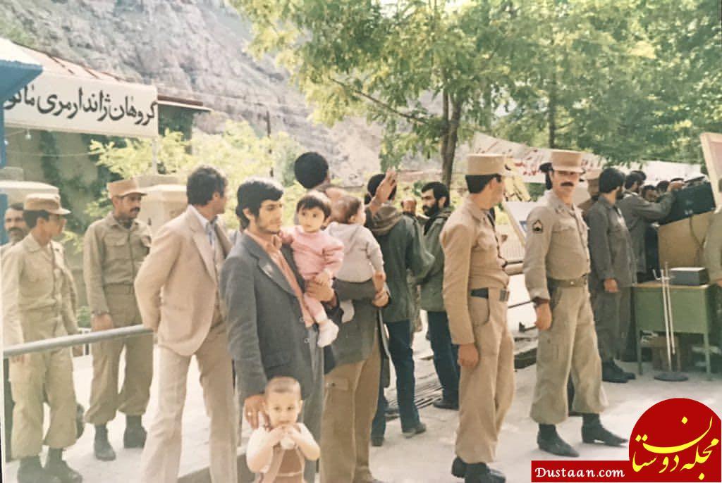 عکسی دیده نشده از محمود احمدی نژاد و فرزندانش