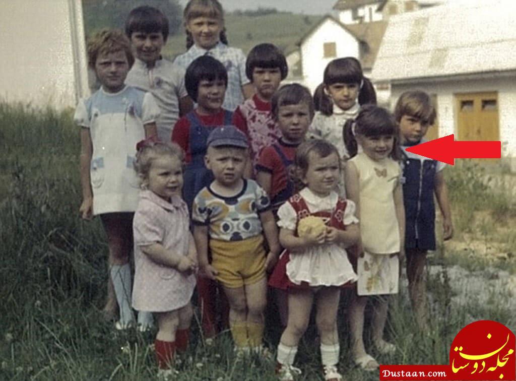 عکس قدیمی و دیده نشده از همسر رئیس جمهور آمریکا