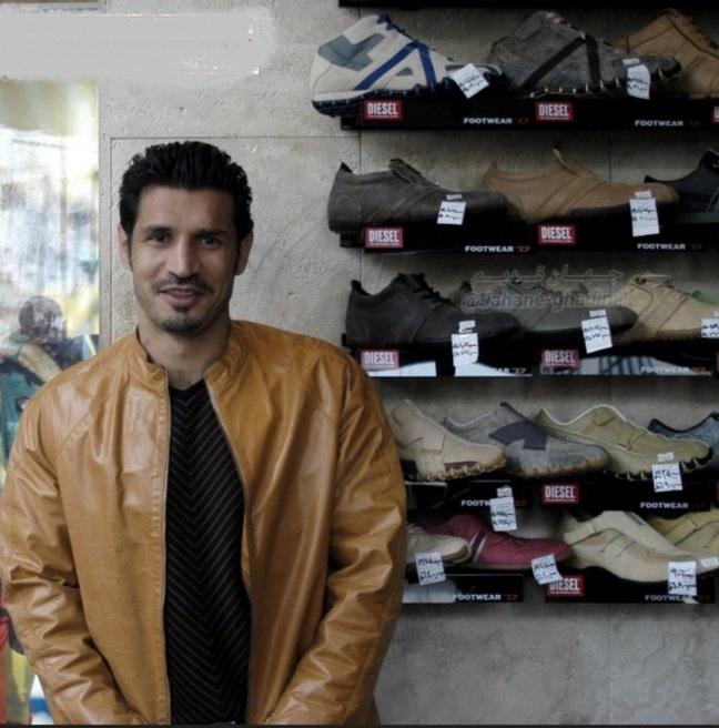www.dustaan.com قیمت کفش های مارک پشت سر علی دایی! +عکس