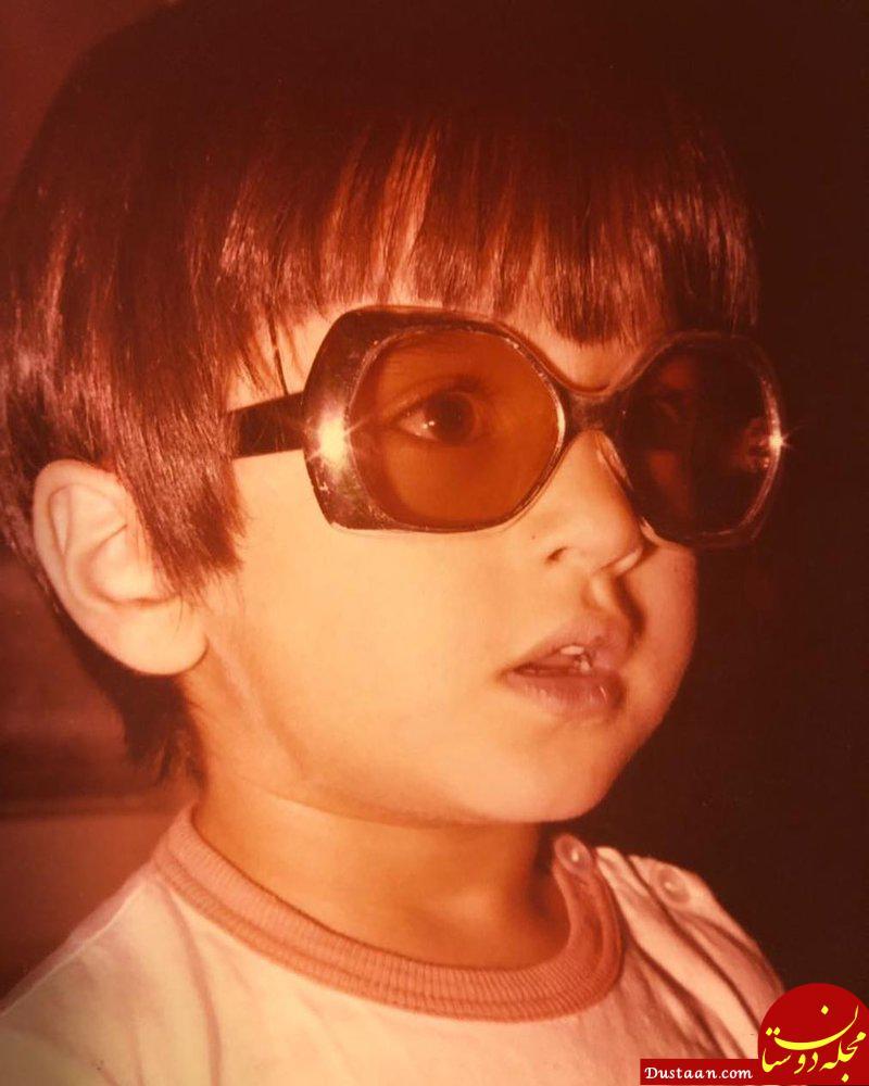 www.dustaan.com تصویری جالب از چهار سالگی رامبد جوان