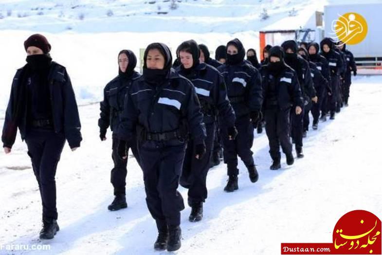 www.dustaan.com آموزش نظامی دختران افغان در ترکیه +عکس