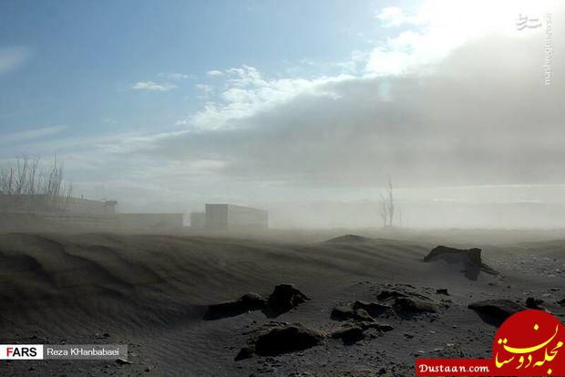 www.dustaan.com طوفان شن در اردبیل +عکس