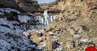 عکس های دیدنی از آبشار خور خور در جنوب سلماس