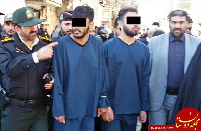 www.dustaan.com 2 جوان مشهدی مردم را با شمشیر به وحشت انداختند! +عکس