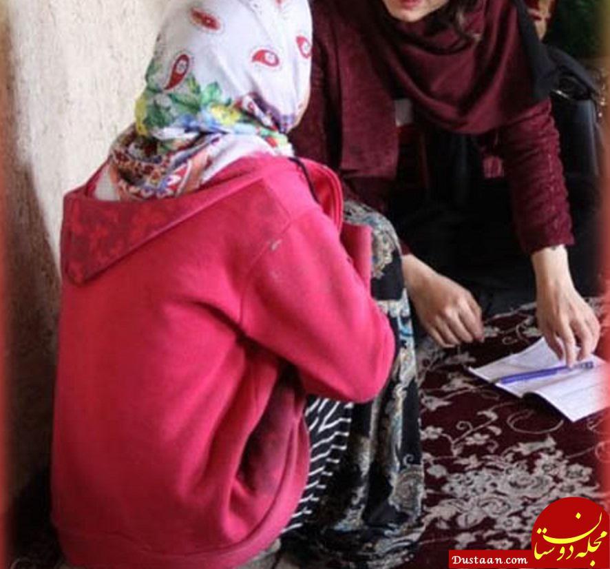 www.dustaan.com جزییات تکان دهنده از ازدواج دختربچه 11 ساله ایلامی با داماد 50 ساله