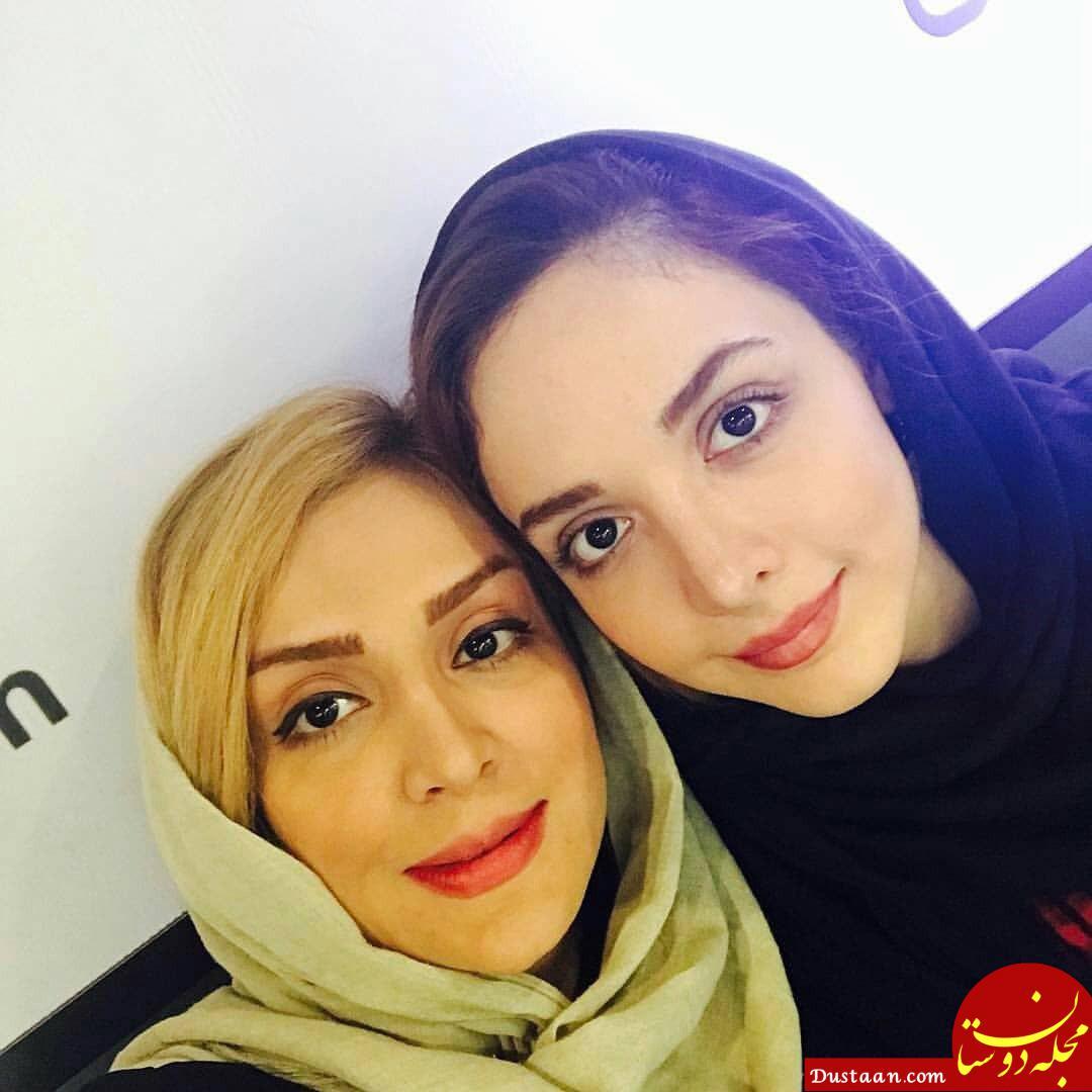 www.dustaan.com عکس های زیبا و دیدنی از بازیگران در کنار مادرانشان