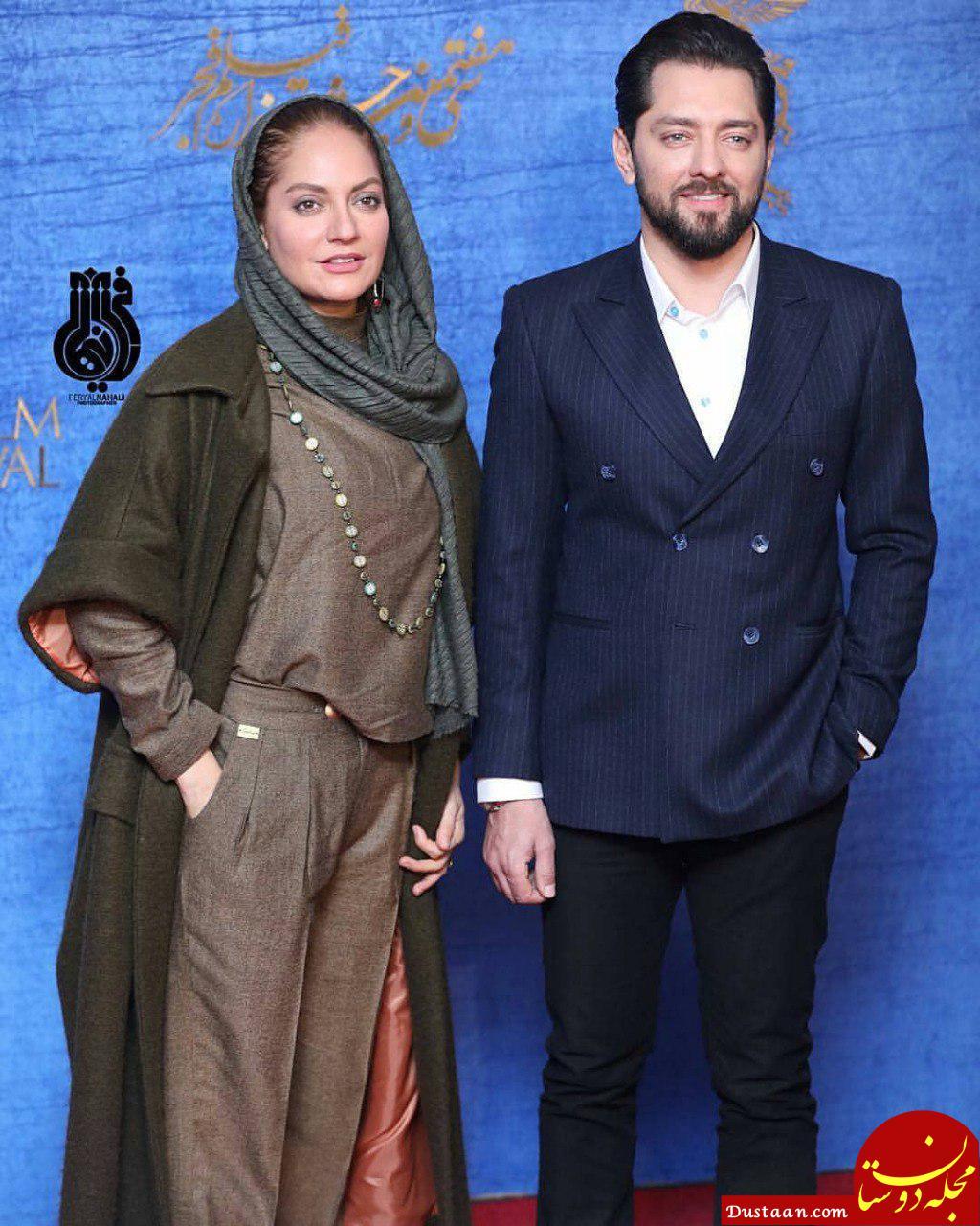 www.dustaan.com عکس های دیدنی مهناز افشار و بهرام رادان در جشنواره فیلم فجر +تصاویر
