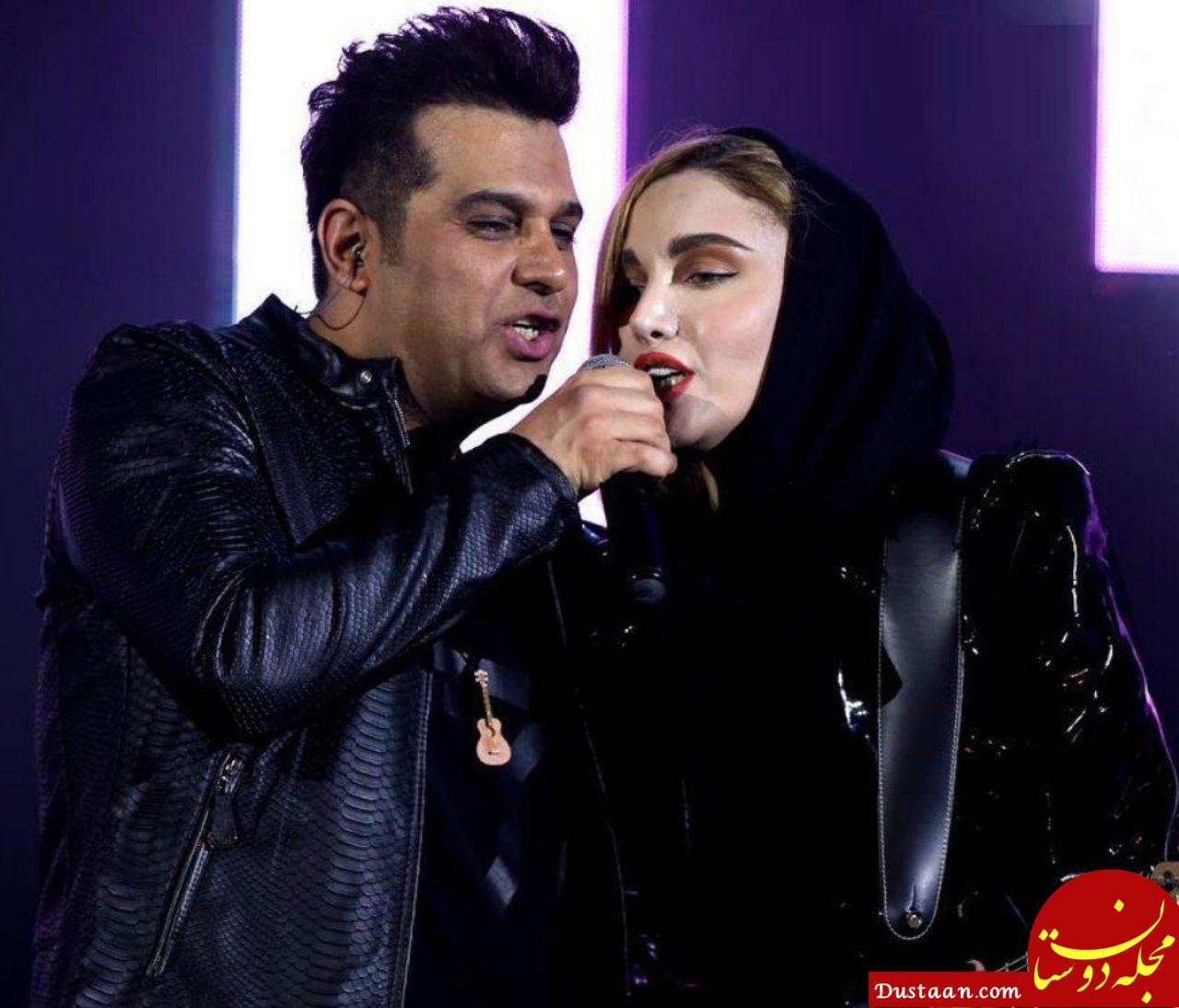 www.dustaan.com واکنش حمید عسگری به حواشی کنسرت جنجالی اش +عکس