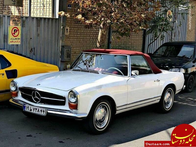 ماشین لوکس و گران قیمت آلمانی در تهران! +عکس