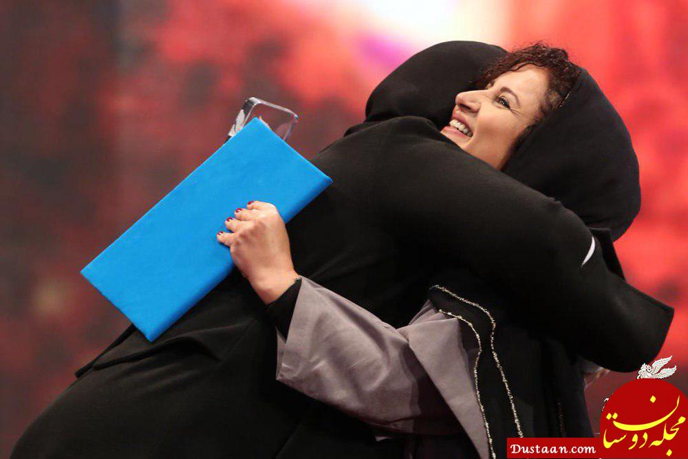 www.dustaan.com وقتی ریما رامین فر، فرشته صدرعرفایی را در آغوش گرفت +عکس
