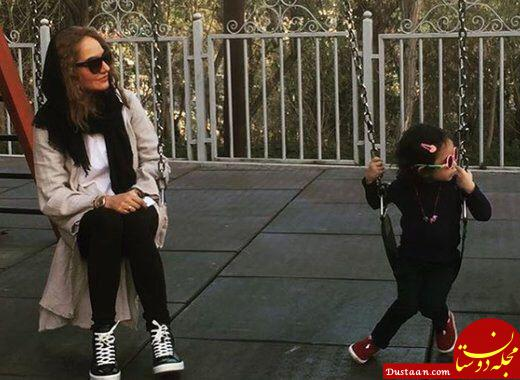 www.dustaan.com اولین تجربه بازیگری لیانا، دختر مهناز افشار +عکس