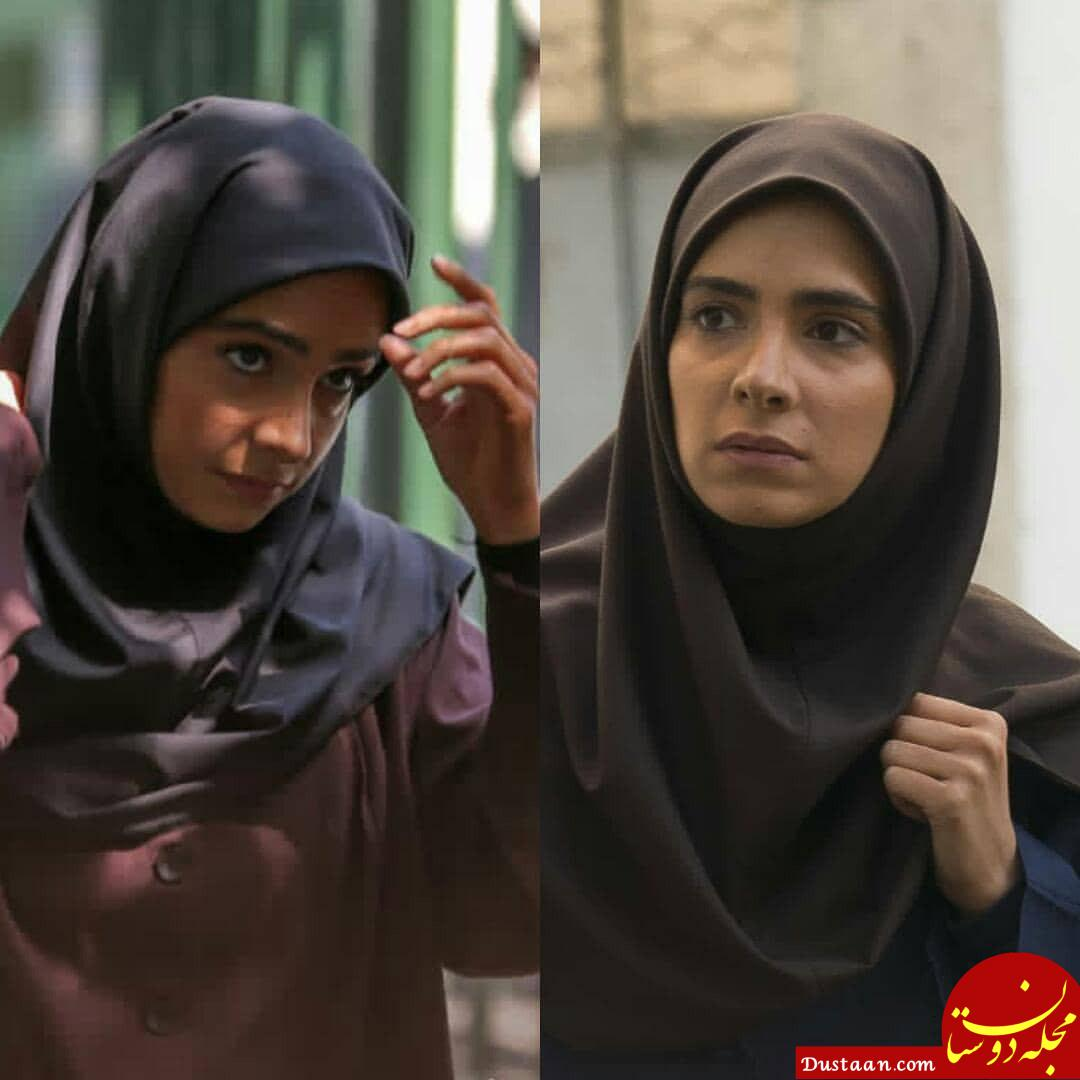 www.dustaan.com پانیذ برزعلی بازیگر نقش حنانه در سریال لحظه گرگ و میش