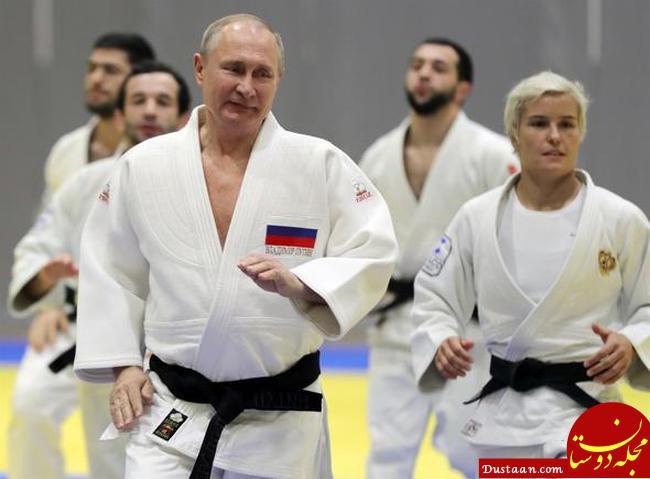 پوتین پس از بدرقه اردوغان و روحانی +عکس