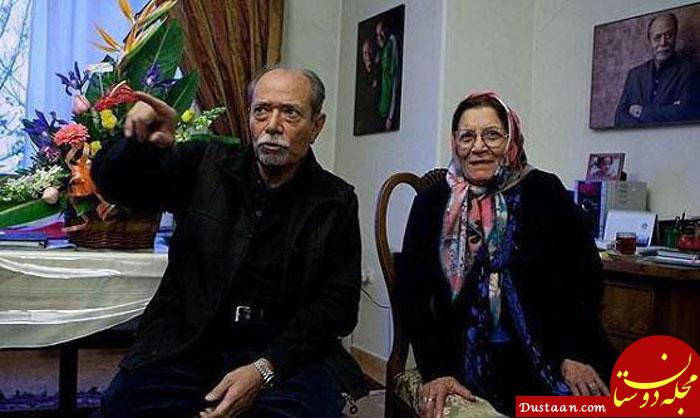 درگذشت همسر علی نصیریان +عکس