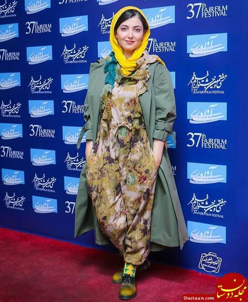 www.dustaan.com لباس عجیب و غریب زیبا کرمعلی در جشنواره فجر! +بیوگرافی
