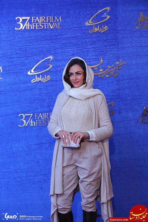 www.dustaan.com لباس های عجیب و غریب بازیگران در حاشیه جشنواره فیلم فجر 97 +تصاویر