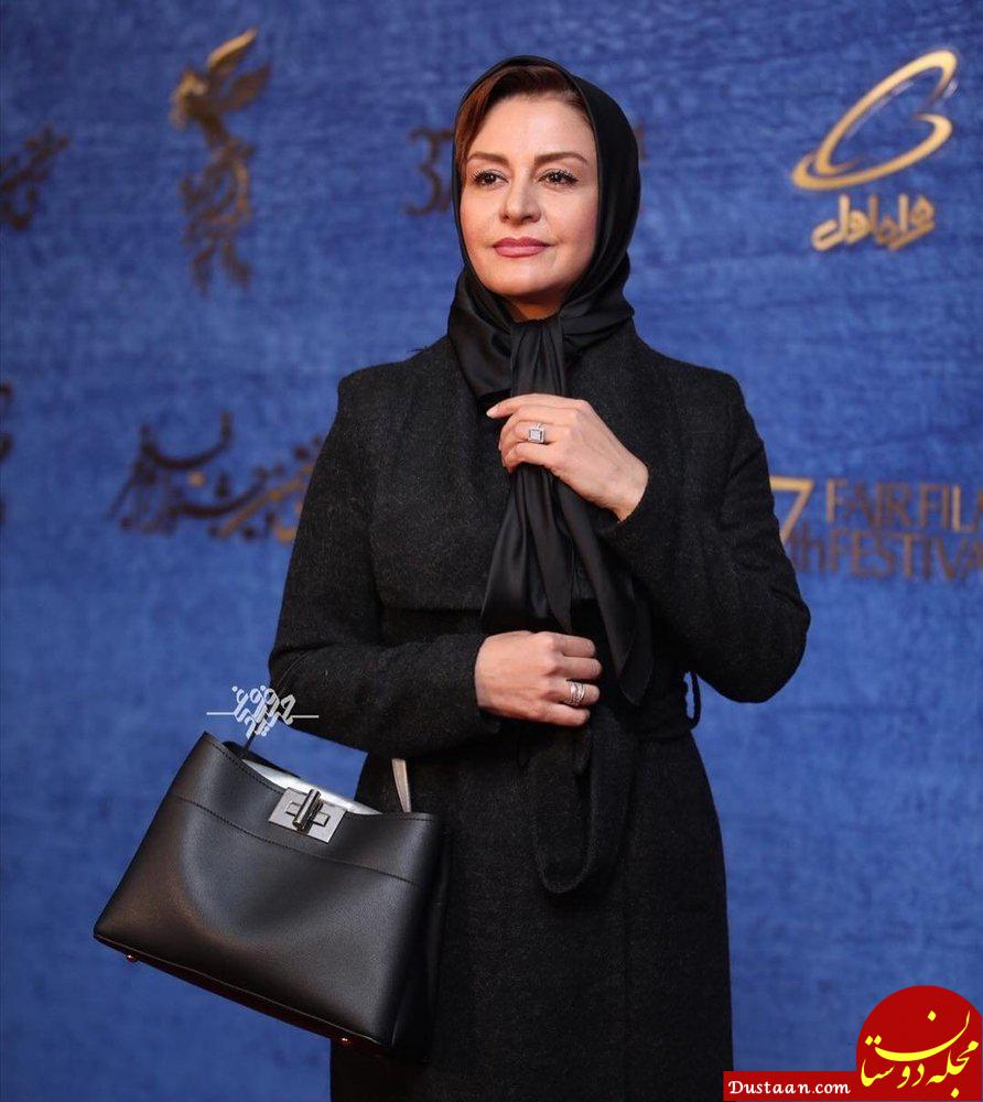 www.dustaan.com پوشش ستودنی مریلا زارعی در جشنواره فیلم فجر! +عکس