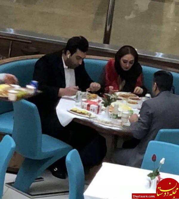 www.dustaan.com ازدواج الهام حمیدی /بیوگرافی و عکس های الهام حمیدی و همسرش علیرضا صادقی
