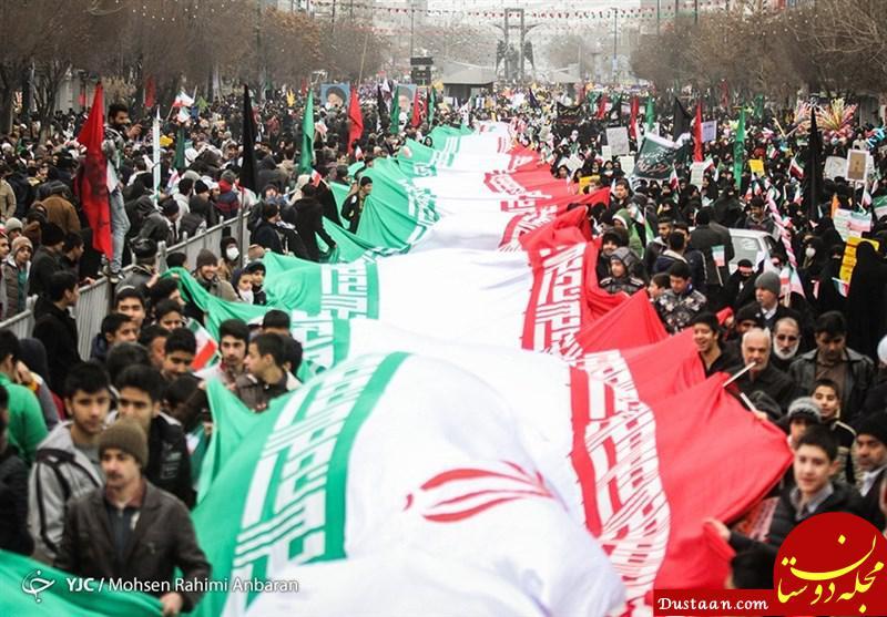 www.dustaan.com المیادین: میلیونها ایرانی در چهلمین سالگرد پیروزی انقلاب شرکت کردند