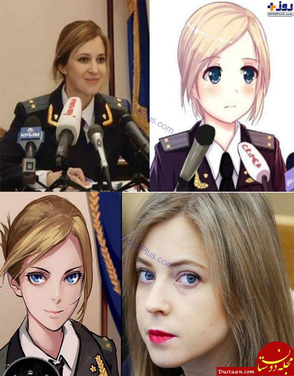 www.dustaan.com مجبوب ترین رئیس پلیس زن جهان! +عکس