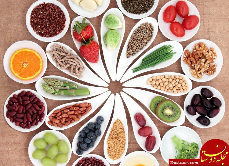 www.dustaan.com لیست پرکاربرد مواد غذایی سرد و گرم