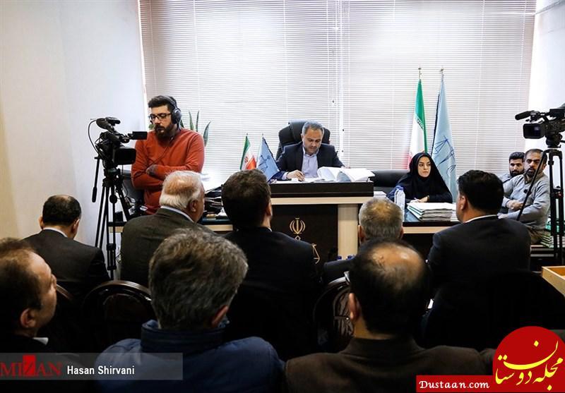 www.dustaan.com حسین فریدون مقابل میز محاکمه +عکس