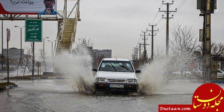 www.dustaan.com هشدار سیلاب به ۱۰ استان