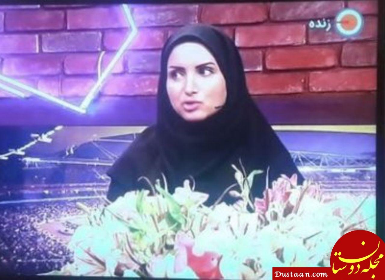 www.dustaan.com تابوشکنی جالب در شبکه ورزش تلویزیون! +عکس